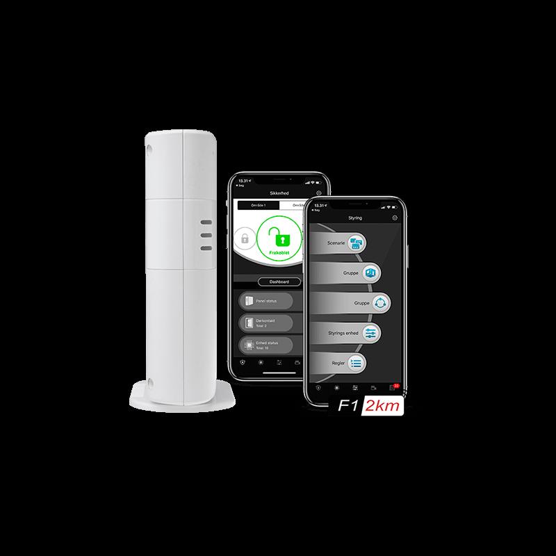 Smartboxpanel og app